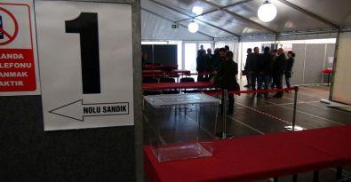1 Kasım seçimleri için yurt dışında sandıklar kuruldu