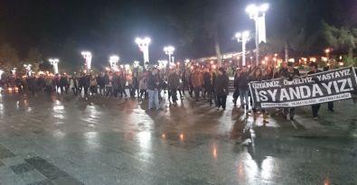 Bolu'da Ankara katliamı protesto edildi