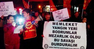 EMEP'ten Kağıthane'de Cizre için yürüyüş