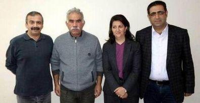 İmralı heyeti Öcalan'la görüştü
