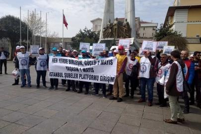 Türk-İş, DİSK ve Hak-İş'e bağlı sendika şubelerinin 1 Mayıs çağrısı