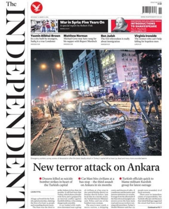 Independent: Türkiye tehlikeli şekilde istikrarsızlaşıyor