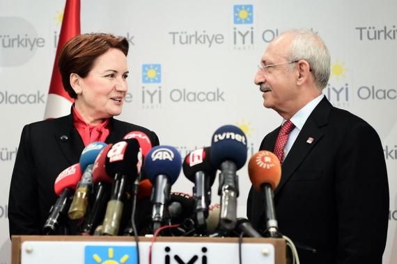 Kılıçdaroğlu, Akşener'e misafir oldu; 'ittifakta sorunlar aşıldı'