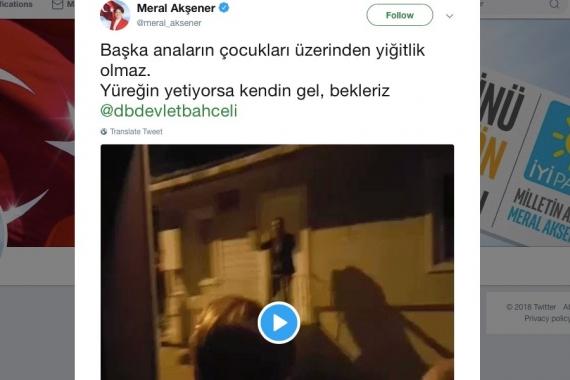 Meral Akşener'in evinin önünde toplananlar için beraatkararı