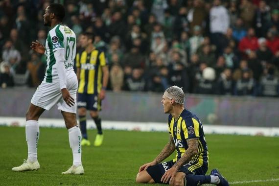 Sarı-lacivertliler 3 puana hasret: Bursaspor 1-1 Fenerbahçe