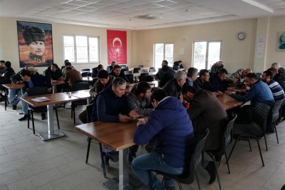 İşçilerden Bağımsız Aday Özbey Dursun'a: Birlik olmak istiyoruz