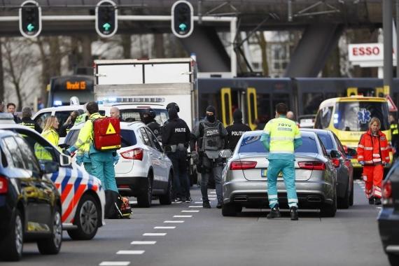Hollanda'nın Utrecht kentinde silahlı saldırı: 3 ölü, 9 yaralı
