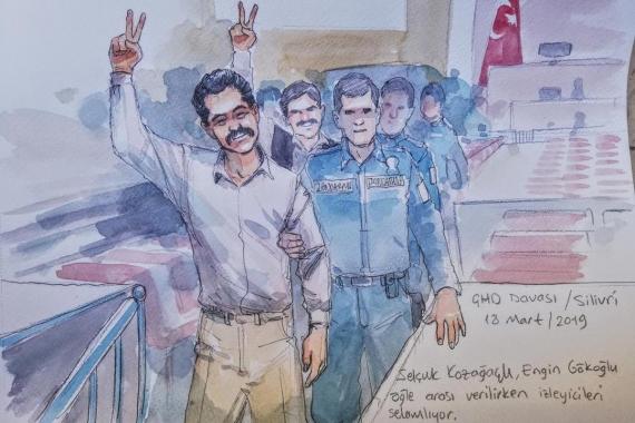 Mahkemeyi reddeden Selçuk Kozağaçlı hakkında suç duyurusu