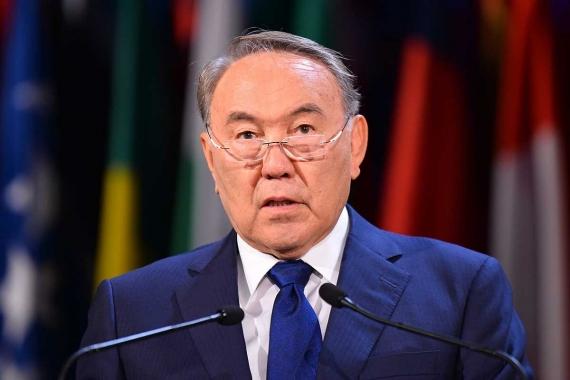 Kazakistan Cumhurbaşkanı Nursultan Nazarbayev istifa etti