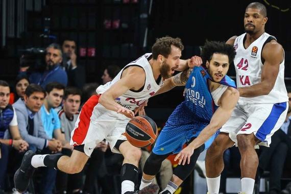 Anadolu Efes, CSKA Moskova'ya son topta yenildi