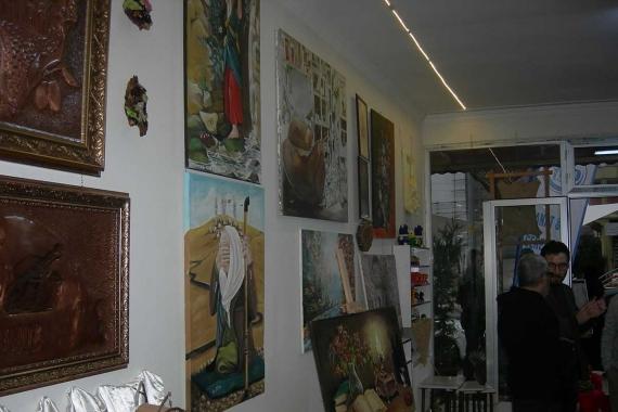 Türkiyeli ve Suriyeli sanatçılardan farklı kültürleri buluşturan sergi