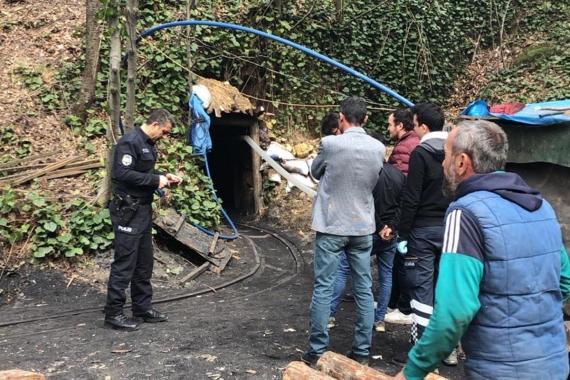 Zonguldak'ta ruhsatsız maden ocağında göçük: 1 işçi öldü