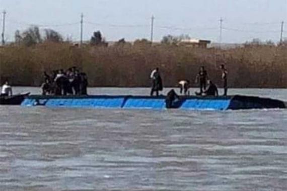 Musul'da Dicle nehrinde feribot battı, 85 kişi hayatını kaybetti