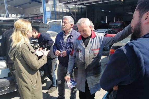 Kocaeli adayı Reyhan Başaran: Esnaf ihtiyaçlarına göre hizmet görecek
