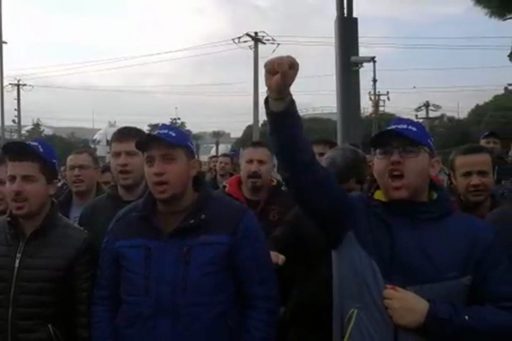 """TÜPRAŞ işçileri 1 Mayıs'ta """"Kazanılmış haklarıma dokunma"""" diyecek"""