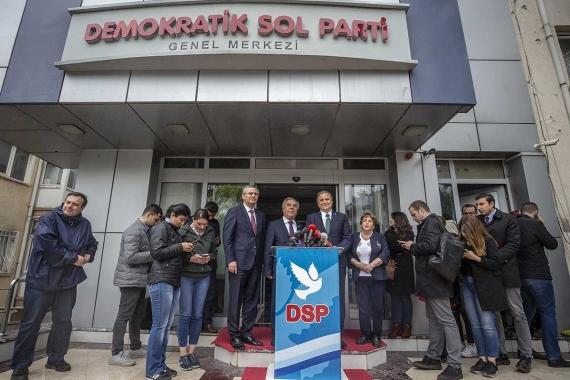 DSP'de öne çıkan bazı isimler İmamoğlu'ya desteğini açıkladı