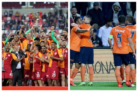 """Süper Lig'de """"final gibi"""" maç: Galatasaray-Başakşehir"""
