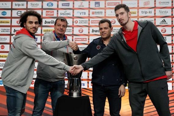 Euroleague'de final akşamı: Anadolu Efes - CSKA Moskova