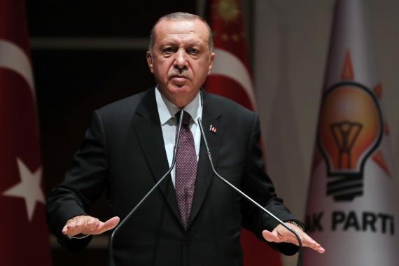 """Erdoğan'dan yabancı basınla """"basına kapalı"""" toplantı"""
