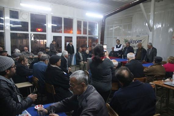 Karacasu Yenice JES karşıtı halk toplantısı   Çepeçevre Yaşam
