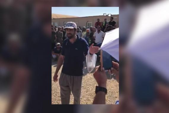 Polisin üzerlerine ateş açtığı Suudi Arabistan'daki işçiler açıklama yaptı