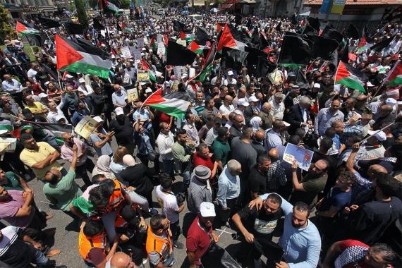 Bahreyn'deki Filistin çalıştayı protestolarla başladı