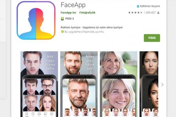 FaceApp'e yüklediğiniz fotoğrafınızı billboardda görürseniz şaşırmayın