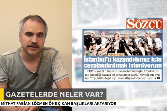 Gazetelerde 'Ne Var Ne Yok?' - 19Temmuz 2019 Cuma
