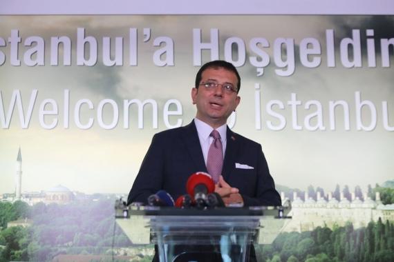 Ekrem İmamoğlu: İBB iştiraklerinin genel müdürlerinin yüzde 90'ı istifa etti