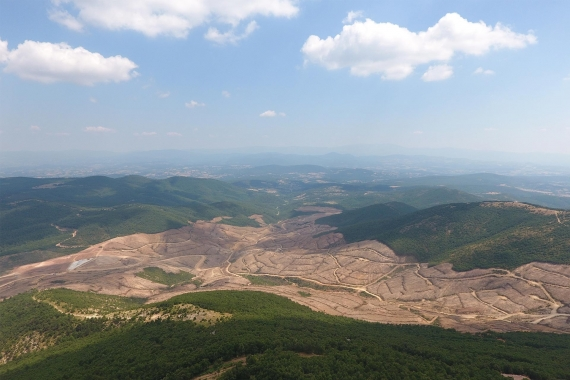 Kaz Dağları'nda altın arayan Alamos Gold'un ruhsatı yenilenmedi, inşaat durdu