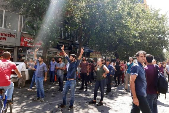 Halk iradesine atanan kayyumlar pek çok ilde protesto ediliyor