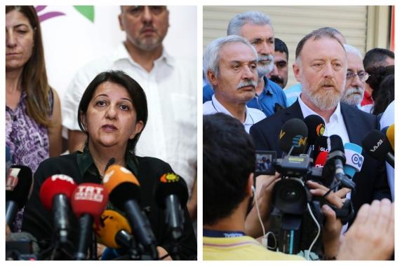 HDP eş başkanları Buldan ve Temelli: Sessizliği bozun, her yerde ses çıkartın!