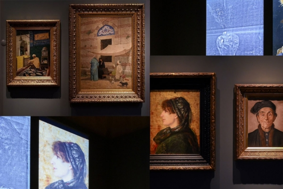 Osman Hamdi Bey resimlerine x-ışını düşerse