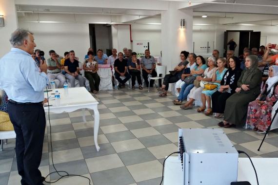 Buca'da tek adam rejimine karşı ortak mücadeleyi yükseltme çağrısı