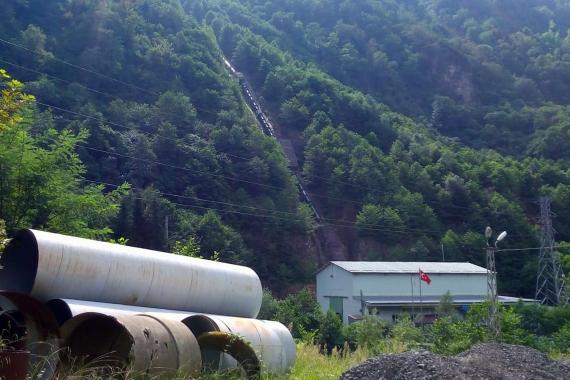 Trabzon'da köylüler HES'lerden şikayetçi: Devlet bunları başımızdan kaldırsın