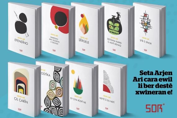 Kürt Şair Arjen Arî'nin şiir seti Weşanên Sor (Sor Yayınları) tarafından basıldı