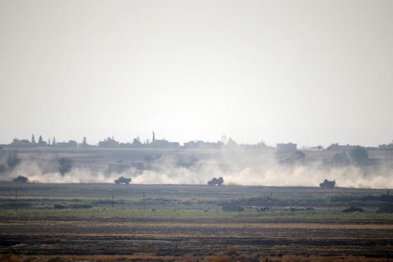 Fırat'ın doğusuna operasyonda 6. gün: Suriye ordusu Türkiye sınırına konuşlanıyor