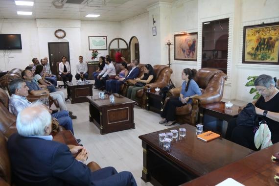 İHD, TİHV, SES, MTO ve Diyarbakır Barosu Nusaybin'de inceleme yaptı