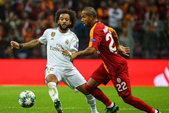 UEFA Şampiyonlar Ligi   Galatasaray: 0 - Real Madrid: 1