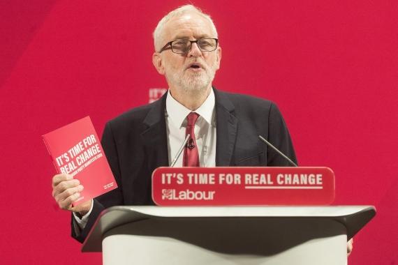 İşçi Partisi lideri Jeremy Corbyn