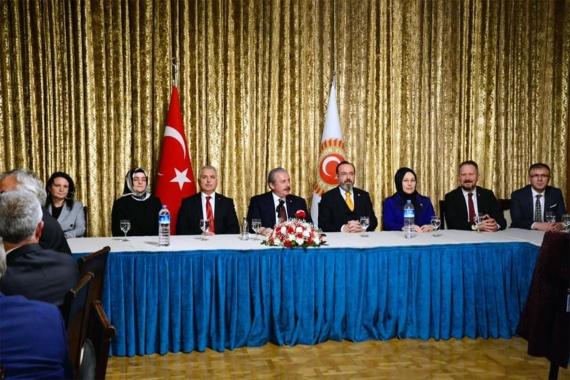 AKP'li heyetle TBMM'yi ziyaret eden Tekirdağ BValisi