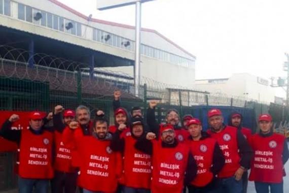 Bozankaya Otomotiv işçileri