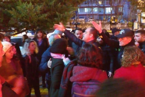 Ankara'da kadınların #LasTesis adlı danslı protestosuna polis müdahalesi