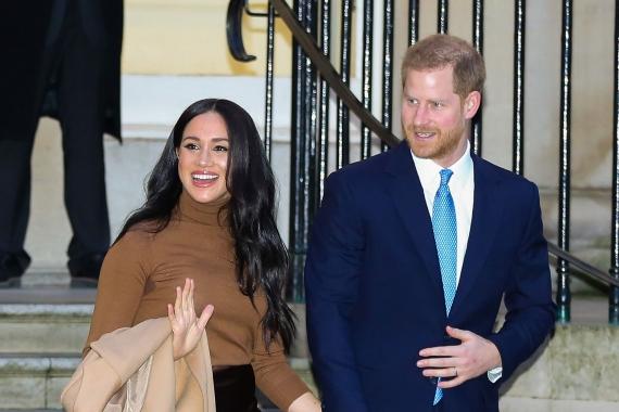 Sussex Dükü Prens Harry ve eşi Düşes Meghan Markle