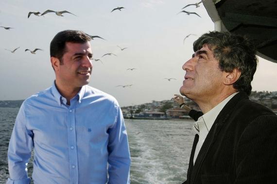 Hrant Dink ve Selahattin Demirtaş kolajı