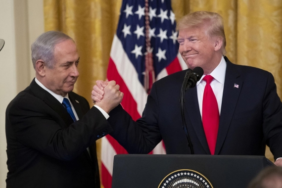 Donald Trump ve Benyamin Netanyahu
