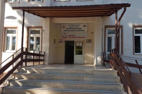 Elazığ Sivrice Aile Sağlığı Merkezi binası