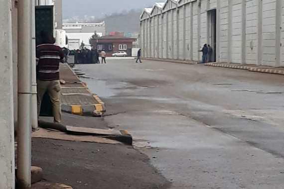 Antep Melike Tekstil'de koronavirüs iddiası üzerine işçiler iş bıraktı
