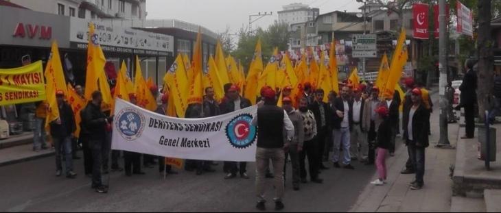 Tuzlalı işçiler Bakırköy'de olacak