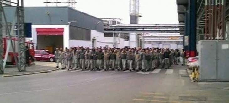 Renault işçilerinin eylemleri sürüyor